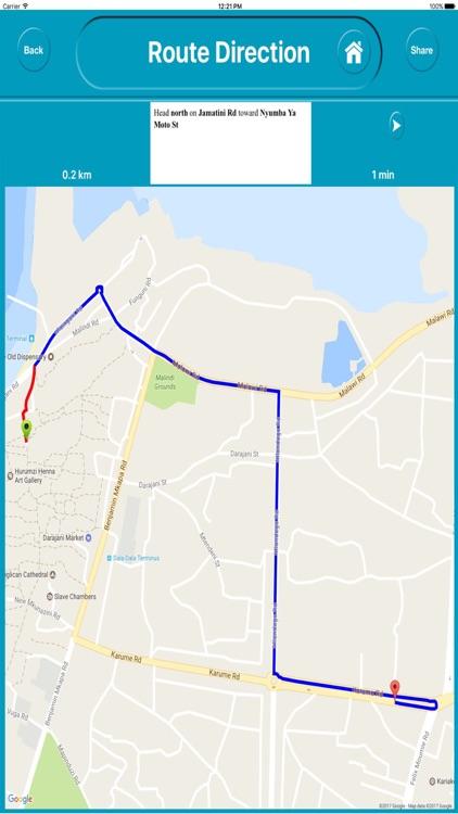 Zanzibar Tanzania Offline City Maps Navigation screenshot-4
