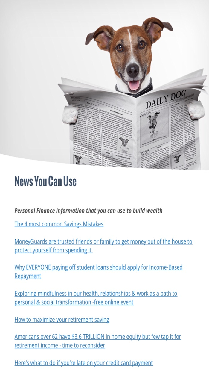 Mindful Money Magazine-Where Your Life Meets Money Screenshot