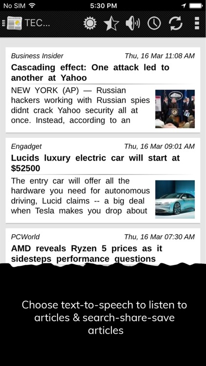 NewsHog : News and Weather screenshot-4