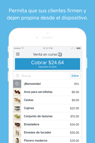 Square Point of Sale (POS) screenshot 4
