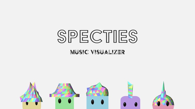 Specties - Music Visualizer