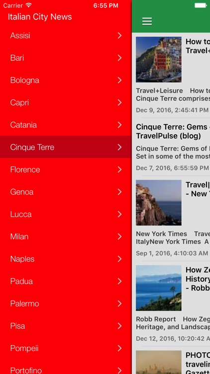 Italy & Rome News Today in English Pro screenshot-4