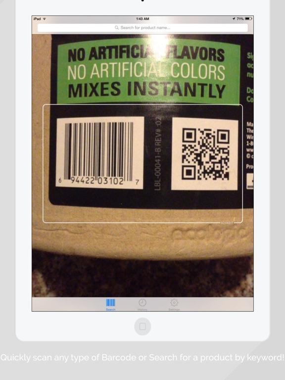 Bakodo Pro - Barcode Scanner & QR Code Reader ipad ekran görüntüleri