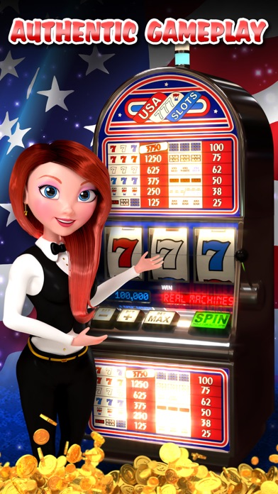 USA Slots - American 777 Free Slot screenshot one