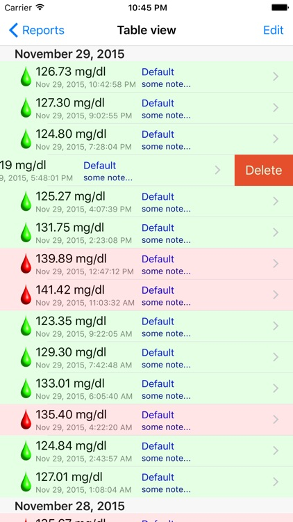 BGluMon Pro - Glucose Monitor screenshot-1