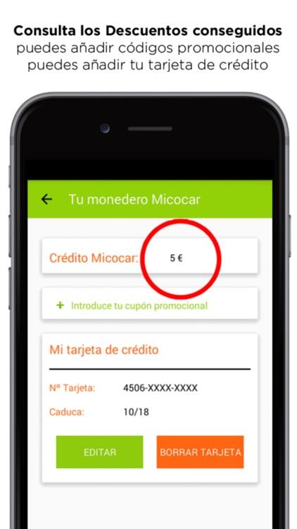 Micocar Taxi Descuentos App screenshot-4