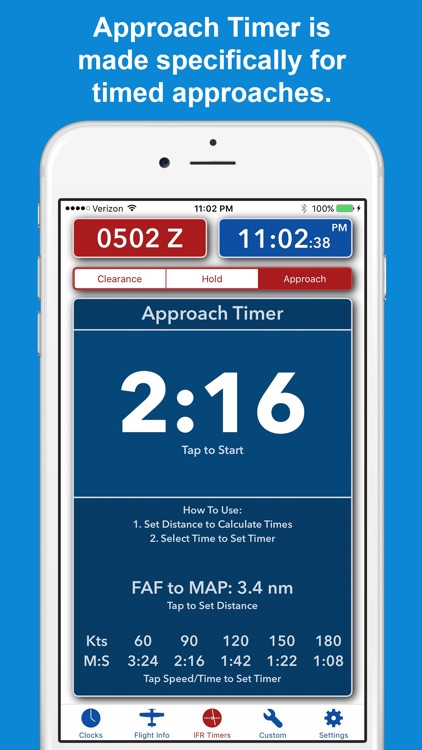 ZivTimer - Flight Timer with Zulu and World Time