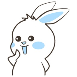 Cavy Rabbit stickers by Edy putra wijaya