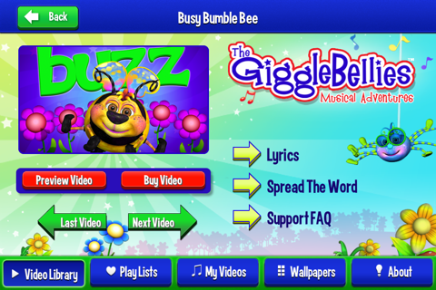 The GiggleBellies Fun Videos for Kids - náhled
