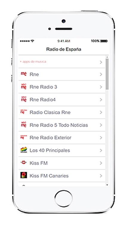 Radios de España en vivo