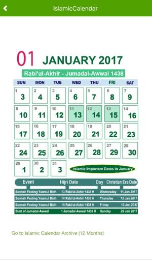 Urdu Calendar 2017 on the App Store