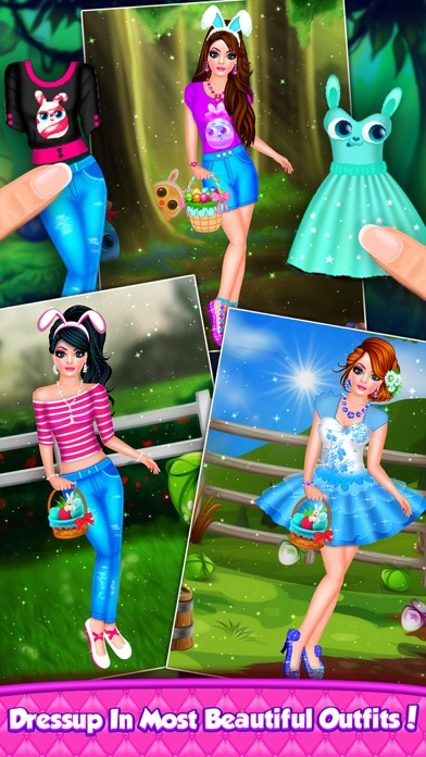 Easter Doll Fashion Salon screenshot four