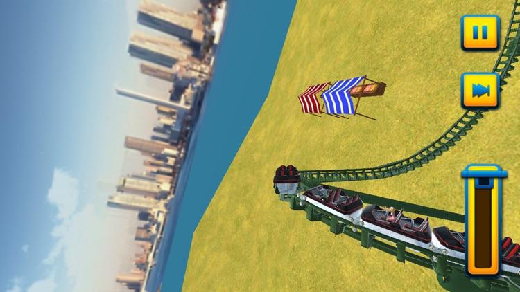 3D Roller Coaster Rush Simulator screenshot-3