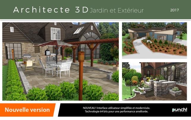 Architecte 3D Jardin Et Extérieur 2017 On The Mac App Store