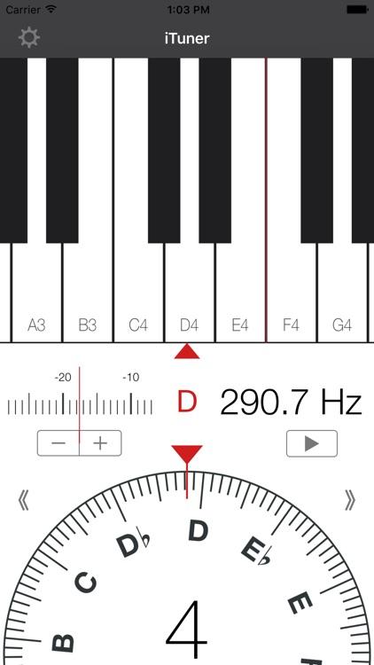 iTuner - Chromatic Tuner for Guitar Piano Violin