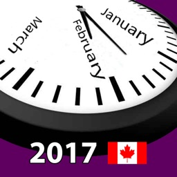 2017 Canada Holiday Calendar
