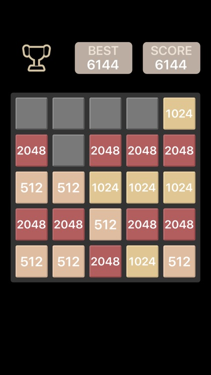 Black Board 2048 - The funniest Reverse Version
