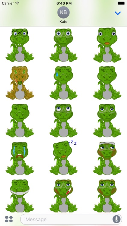 Mr Dino - Funny Stickers screenshot-4