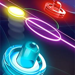 Glow Hockey 3HD - Air Hockey Free