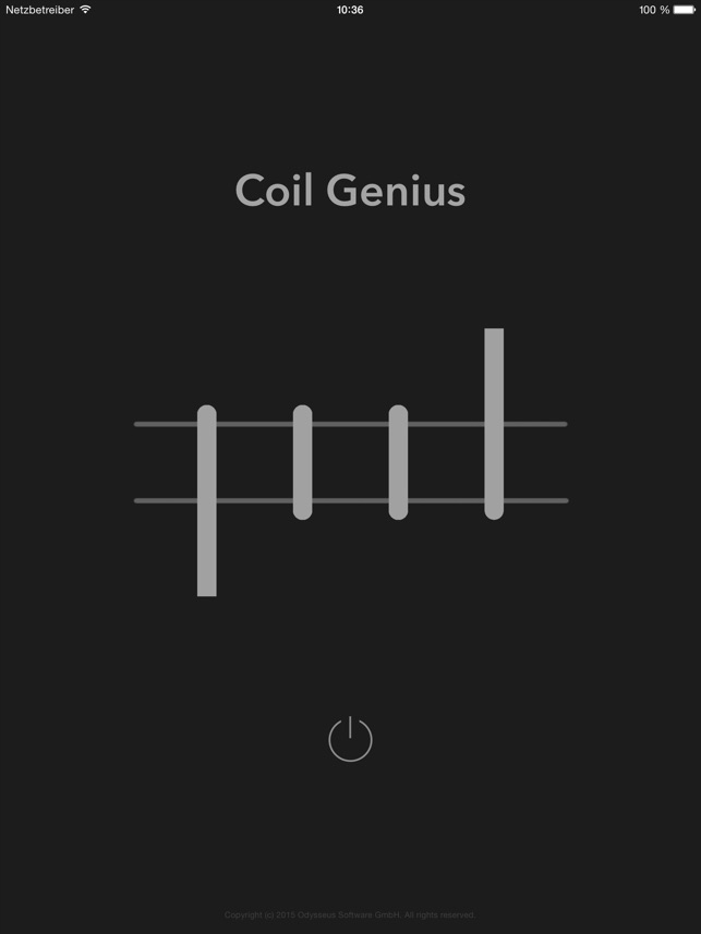 Coil Genius Screenshot