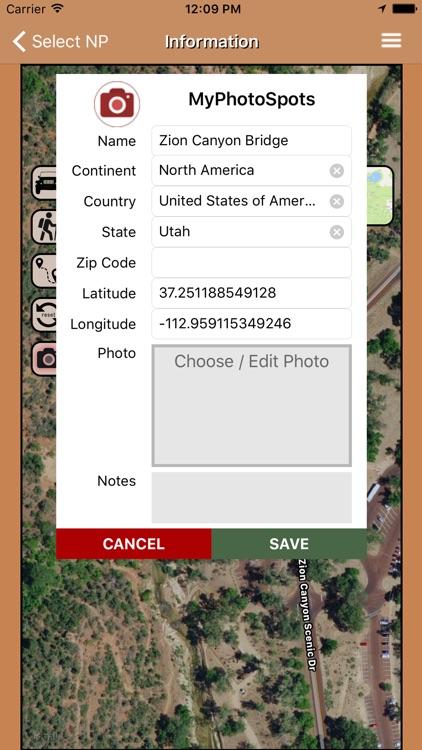 PhotoSpots National Parks US screenshot-4