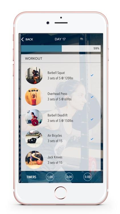 Spitfire Athlete Weight Lifting App & Workout Plan screenshot-3