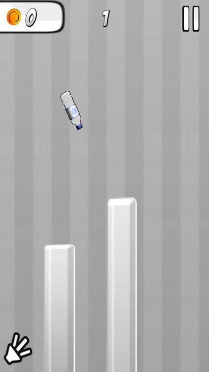 Swipe Bottle Finger Game