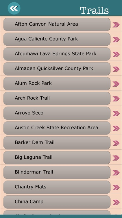 California State Campgrounds & Hiking Trails screenshot-3