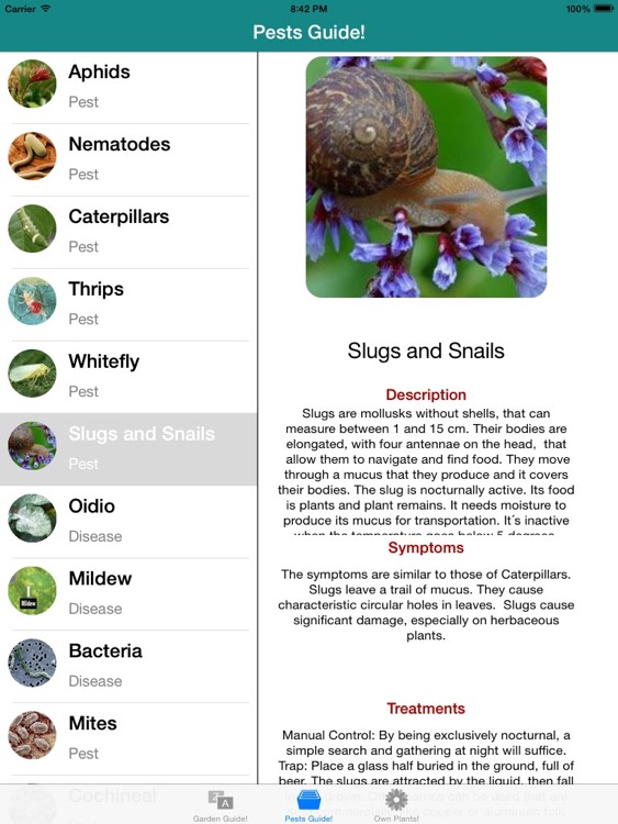 Garden Guide HD! screenshot-4