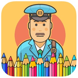 Kids Coloring Games Page Postman Version