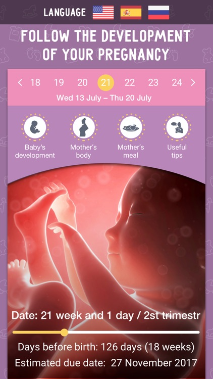 Pregnancy Tracker MD PRO: Due Date Calculator!