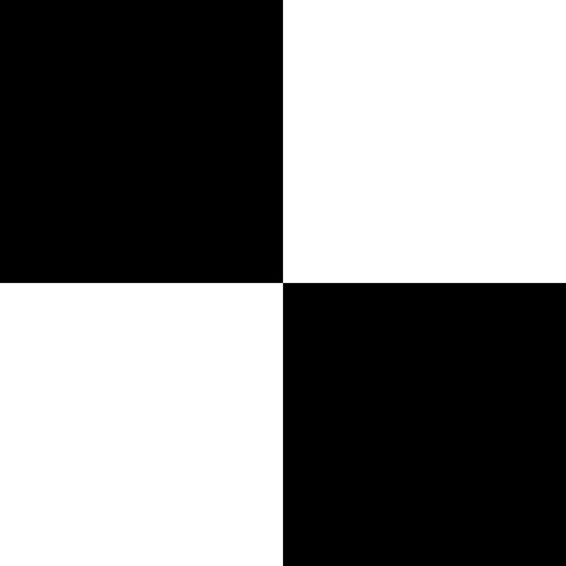 Black White Tiles (New): Piano Tiles Mini Games