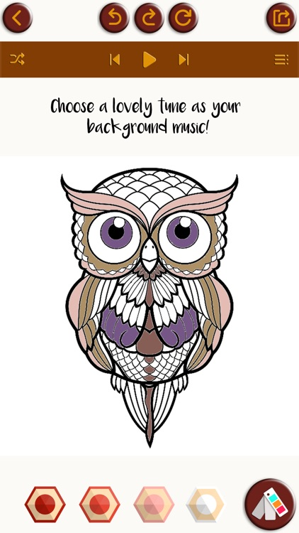 stress relieving coloring pages owls - photo#23