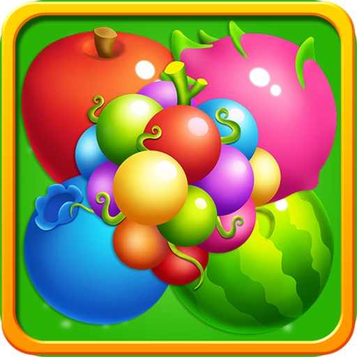 Fruits Garden Story - King of Crush Heroes Games Icon