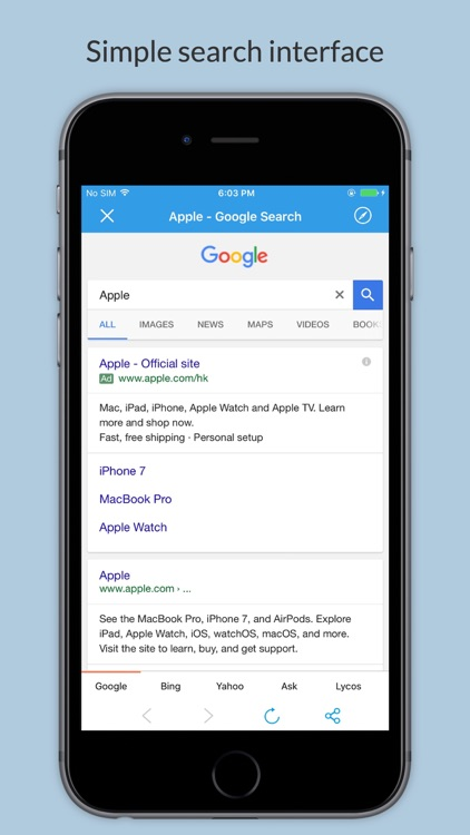 Search-All -  Secure All-in-One Search Engine