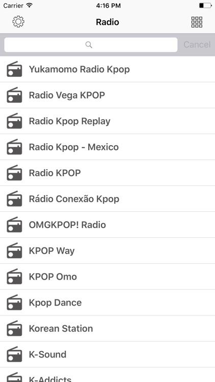 Radio FM K-Pop online Stations by Le Hung