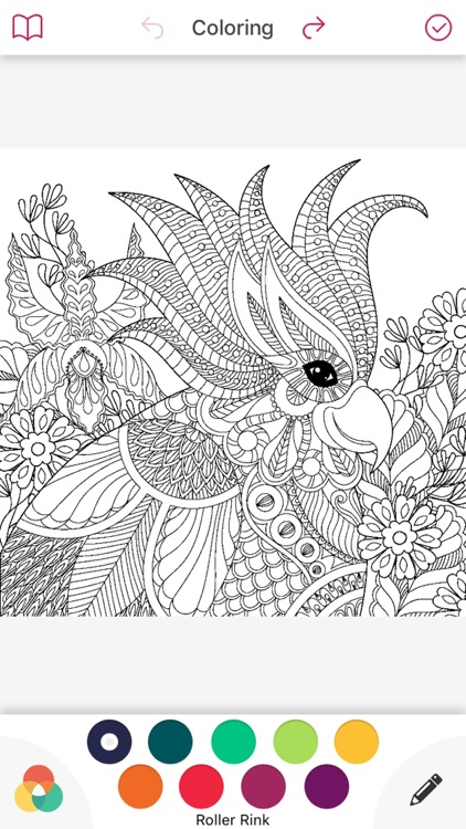 coloring book color therapy free adult for adults screenshot-3