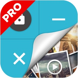 Calculator - Hide Photo, Video, Data Pro