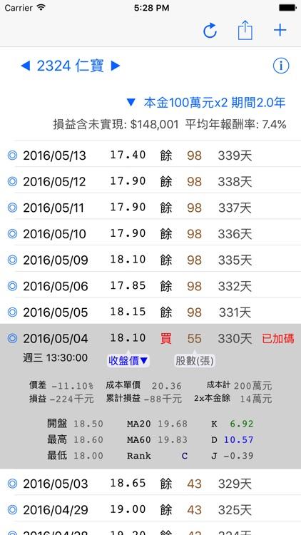 小確幸股票模擬機 screenshot-3