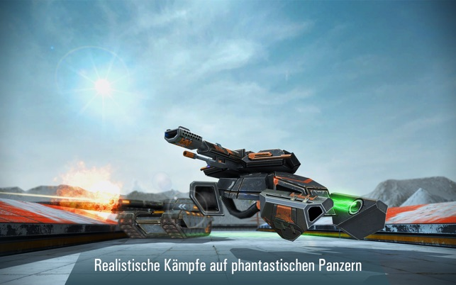 Iron Tanks: Panzer Spiel Screenshot
