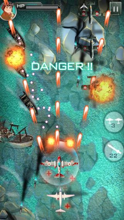 Sky Force 1942: Sky Fighter Squadron Force Attack screenshot-3
