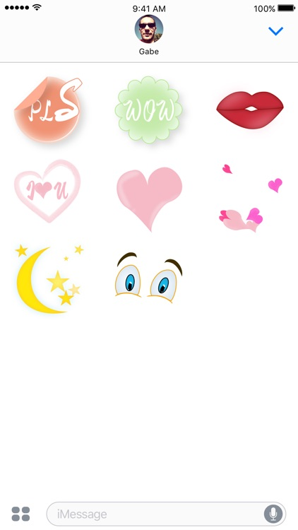Animated Color Stickers