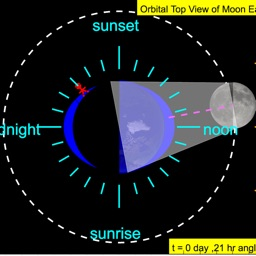 Moon Phases with Sea Tides