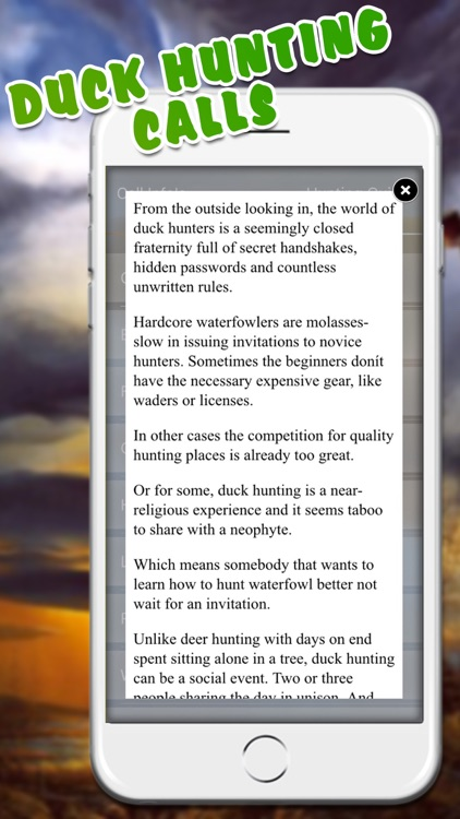 Easy Duck Hunting Calls Pro: Finest Hunting Call screenshot-3
