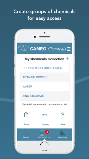 Cameo chemicals on the app store publicscrutiny Gallery