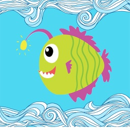 Fish Cute-Fc Sticker