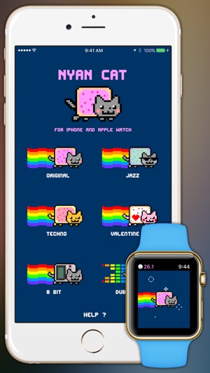 Nyan Cat: Watch & Phone Edition! on the App Store