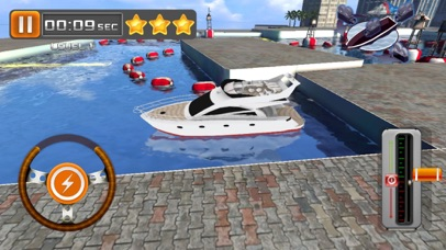 3D Yacht Boat Parking Game - Driving & Park