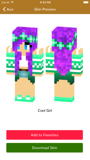 minecraft pe skins for girls