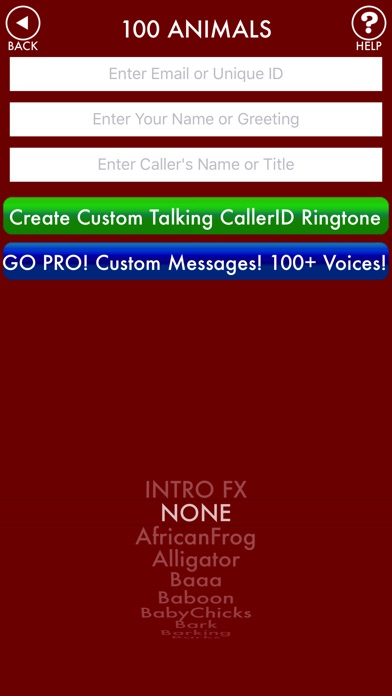 100ANIMALS + RINGTONES Animal Ring Tone Sounds screenshot two